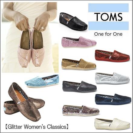 TOMS 靴 レディース glitter Women's Classics  ...