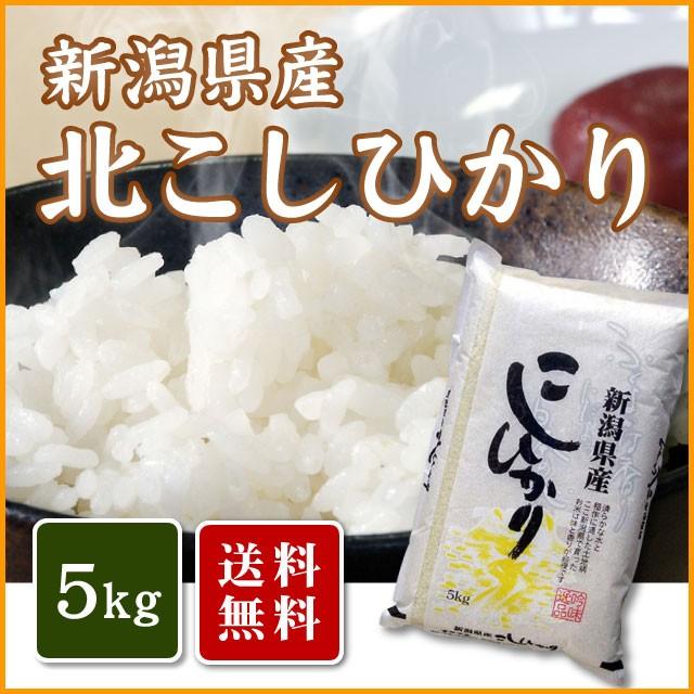 【送料無料】新潟県産コシヒカリ(北)5kg<5キロ...