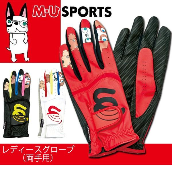 M・U SPORTS MUスポーツ ゴルフ ゴルフグローブ ...