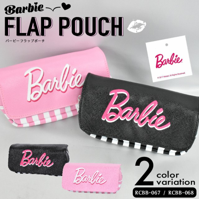 Barbie フラップポーチ ペンポーチ ポーチ レデ...