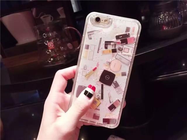7e4e5a32fc 【新発売】iPhone6s iPhone6splus キラキラ流れ星☆グリッターiPhone7 iphone7plus 専用ケース ストーン 化粧品  リップ マニキュアの通販はWowma!
