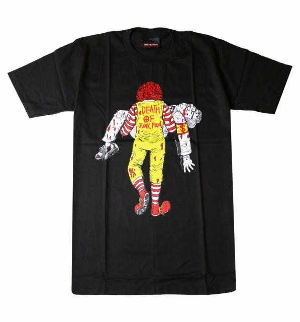 プリントTシャツ Death of Junk Food マクとケン ...
