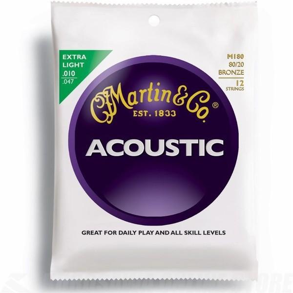 MARTIN(マーチン弦) 「M180×1セット」12弦ギター...