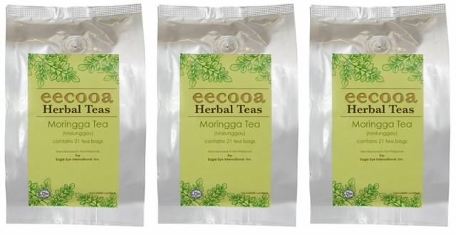 エクーア モリンガ茶 21包 3個セット