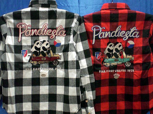 PANDIESTA JAPAN タンデムパンダ チェックネル...