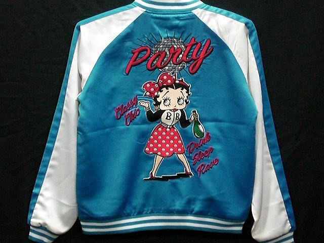 LOWBLOW KNUCKLE X BETTY BOOP  PARTY ON BOOP ベ...