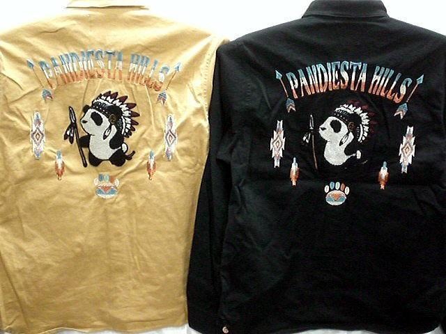 PANDIESTA JAPAN 長袖 ワークシャツ インディア...
