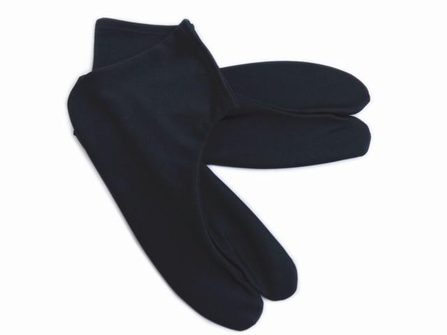 ストレッチ黒足袋(25〜28cm)裏黒 カジュアル...