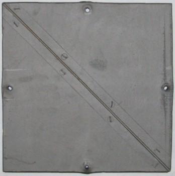 腰瓦 筋引き(穴有)10枚セット