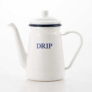 【ヨシカワ DRIP ドリップポット】琺瑯「DRIP」ド...