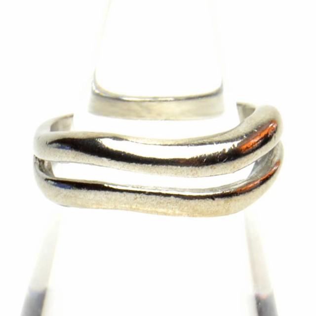 2連風 デザイン リング 指輪 レディース アクセサ...