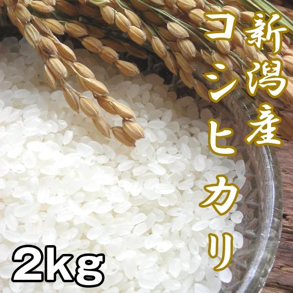 新潟産コシヒカリ2kg (お米,こしひかり,新米,お取...