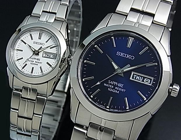 SEIKO/セイコー【クォーツ】ペアウォッチ 腕時計 ...