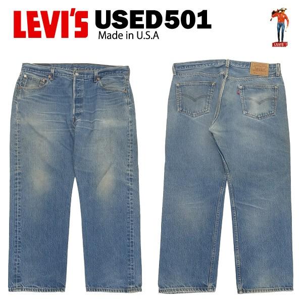 [送料無料] USED Levis 501 レギュラー W38×L30 ...