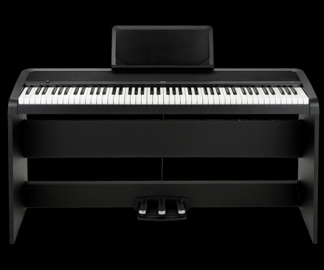 KORG  コルグ 電子ピアノ B1SP-BK【z8】