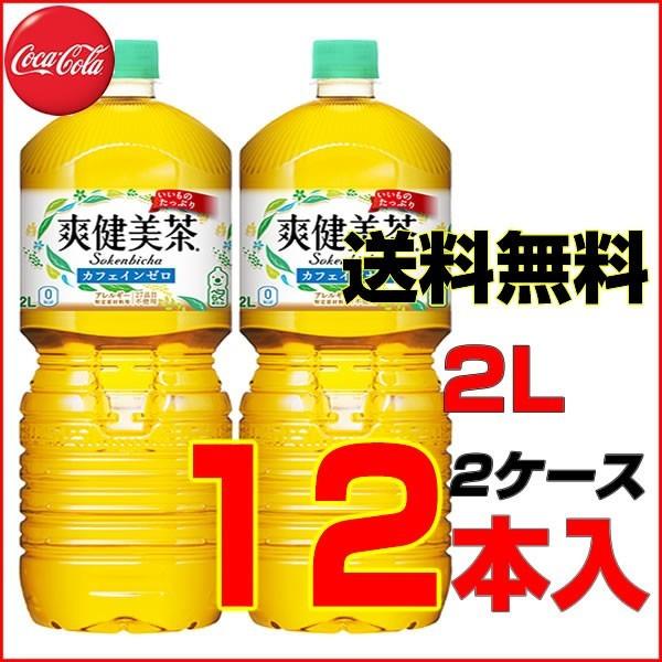 爽健美茶 2L PET 12本【6本×2ケース】 コカ・コ...