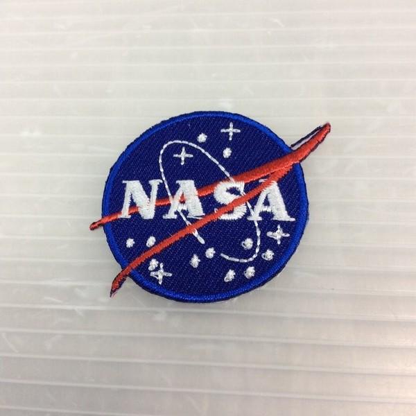 小型刺繍ワッペン(CG)(NASA)アイロンワッペン ...