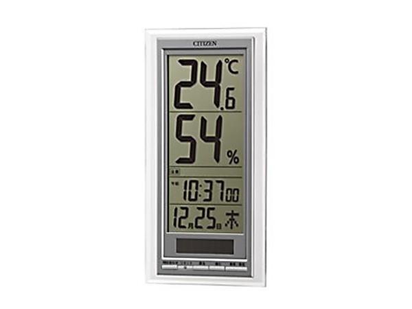 シチズン ライフナビD204A 高精度 温度計 湿度計 ...