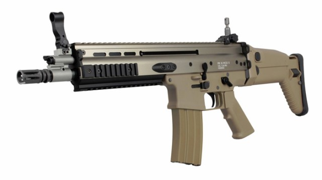 【激安!54%OFF!】We-Tech SCAR-L CQC 電動ガン...