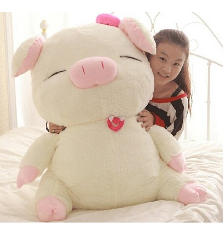 ブタ ぬいぐるみ 特大 豚 110cm 大きいぶた/抱き...