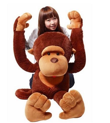 猿 ぬいぐるみ さる/サル 110cm 巨大/大きい ...