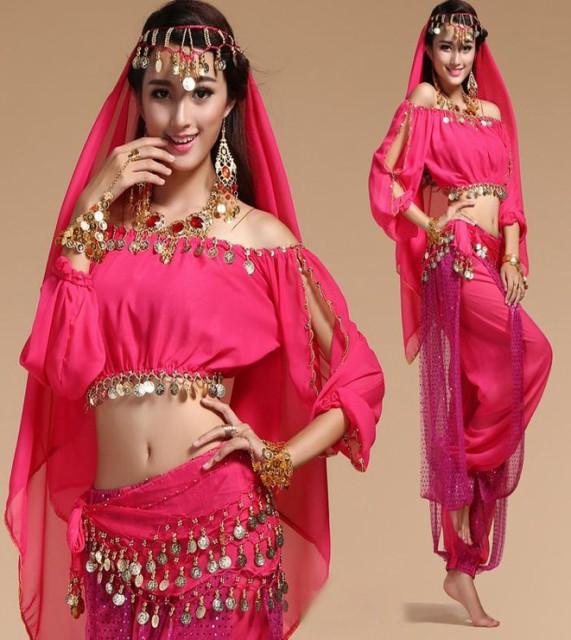 ベリーダンス アラビア衣装 きらきら美しい舞台...