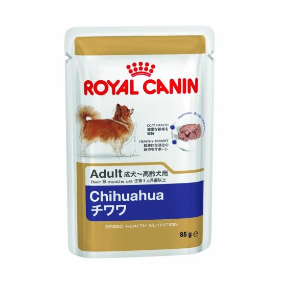 ロイヤルカナン BHN-WET チワワ 成犬〜高齢犬用 8...