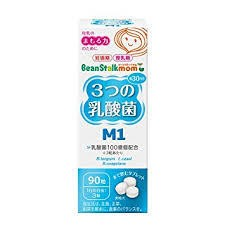 90粒 ビーンスタークマム 3つの乳酸菌 M1 90粒...