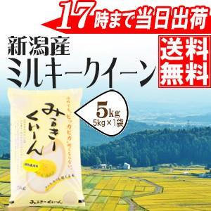 新潟産ミルキークイーン 5kg 安心・安全 特別栽培...