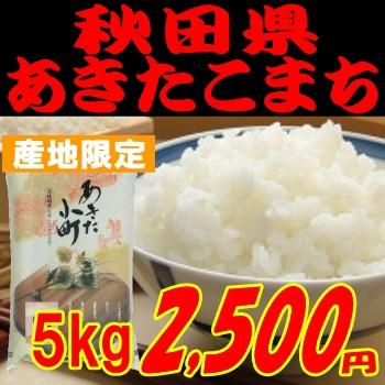 即納OK 平成29年度産 秋田県あきたこまち10kg5,00...