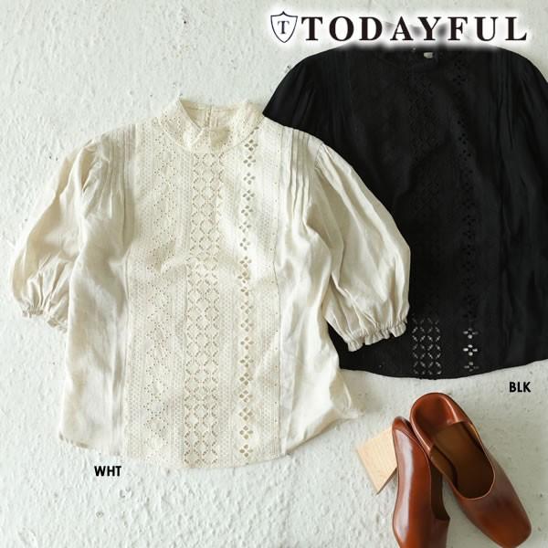TODAYFUL トゥデイフル LIFE's ライフズ Cut-lace...