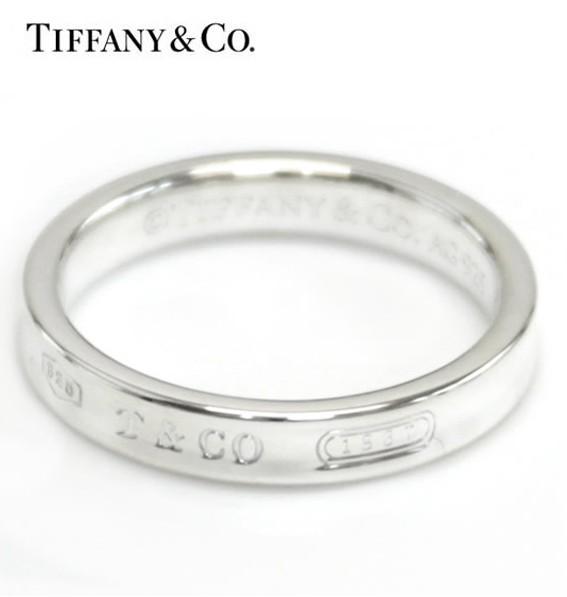 ★ティファニー 指輪 1837 ナローリング 9.0 (実...