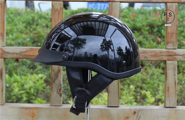 ヘルメット 多色選択可能 半キャップ バイク ヘル...