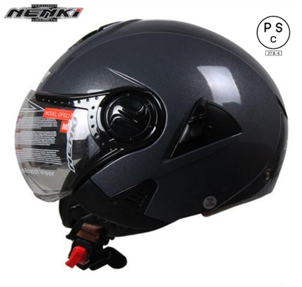 バイクヘルメット バイク用 ダブルシールド ジェ...
