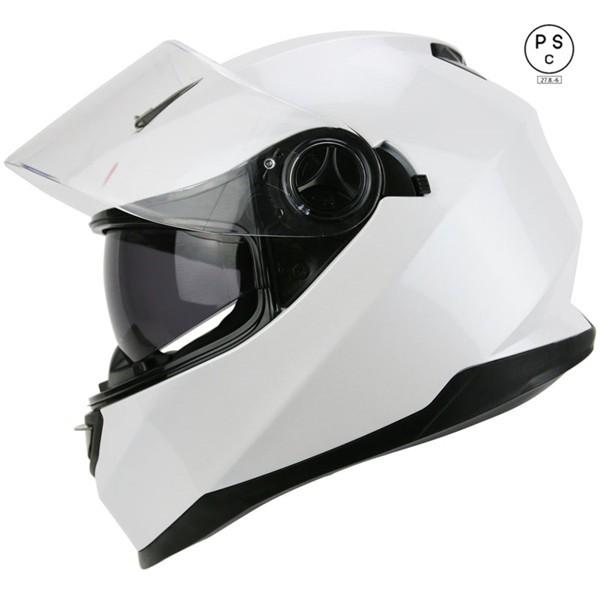 フルフェイス ダブルシールド バイクヘルメット ...