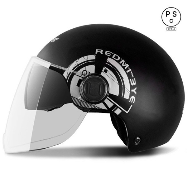 半キャップ バイク 半帽 ヘルメット バイク用 男...