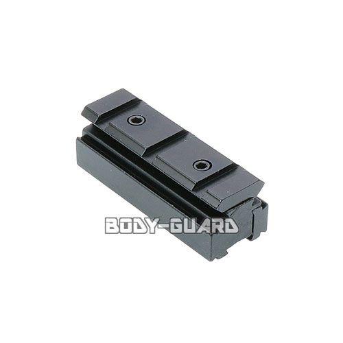 アルミ製 20mm変換マウントベース ミニ