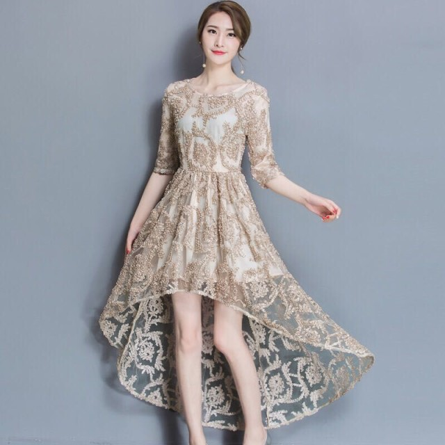 2017年 ドレス パーティ フォーマルワンピース ...