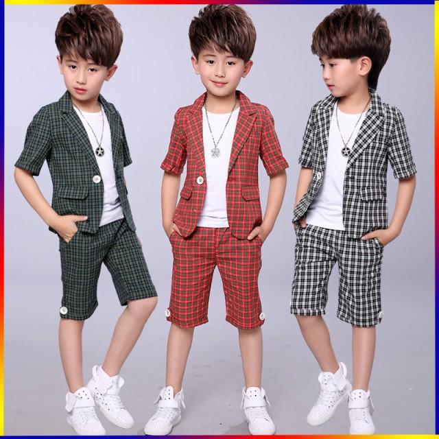 夏男の子スーツ 供服入学式 入学式 卒園式 男の子...