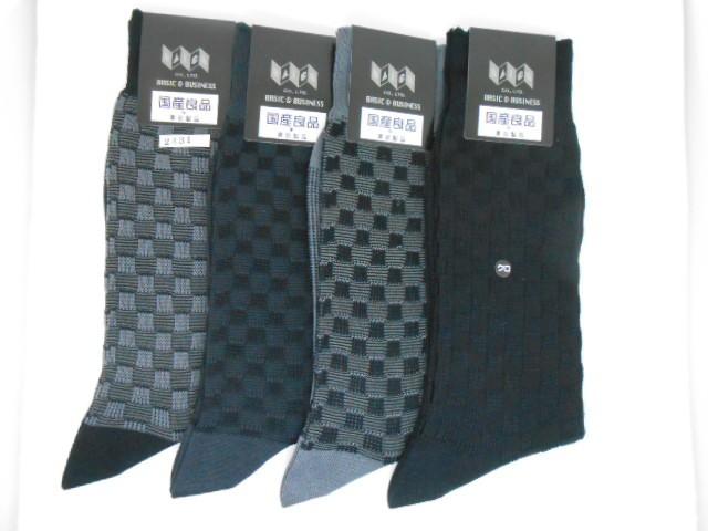 日本製紳士靴下4足よりどり ¥2000 #2431 市...