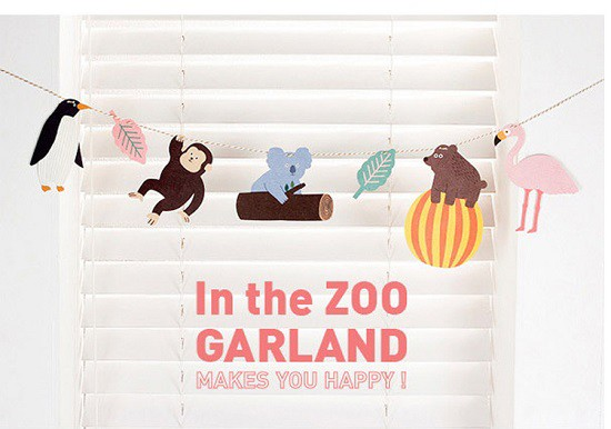 In the Zoo Garland / ガーランド / 子供部屋 / ...