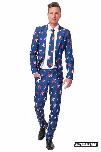 OPPO SUITS SUITMEISTER 【USA Stars and Stri...
