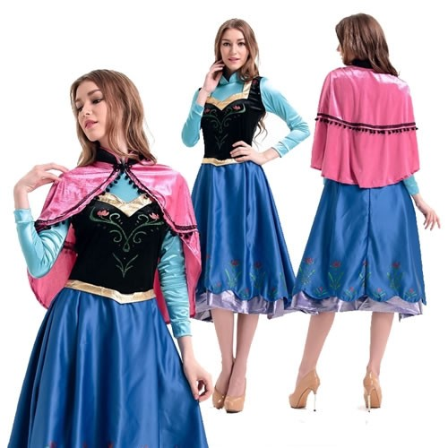 be93ccb38953e 激安セール アナ雪 姫 ディズニー コスプレ 衣装 ハロウィン 仮装☆アナと雪の女王
