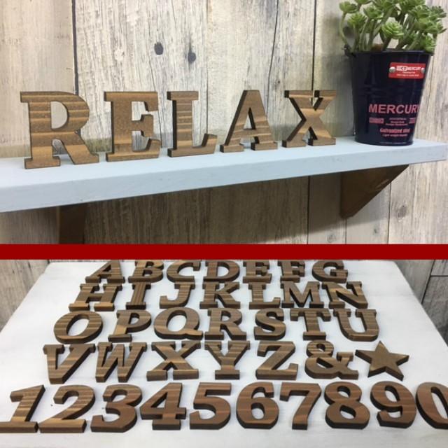 送料無料!天然木使用◆木製◆アルファベット&ナ...