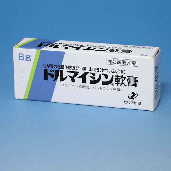 【第2類医薬品】ドルマイシン軟膏 6g  けが等...