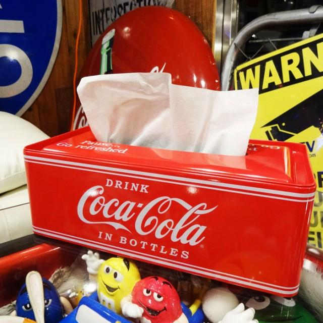 Coca-Cola コカコーラ ティンティッシュケース/ブ...