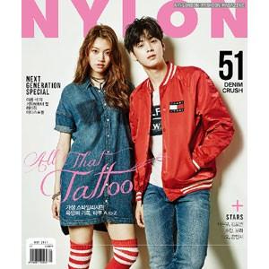 韓国女性雑誌 NYLON(ナイロン) 2017年 5月号 (A...