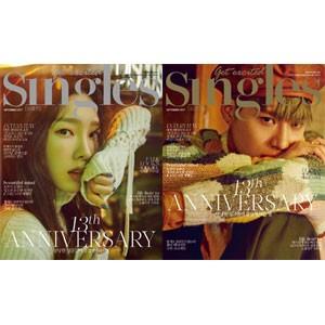 韓国女性雑誌 Singles(シングルズ)2017年 9月号...