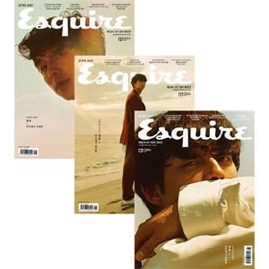 韓国男性雑誌 Esquire(エスクァイア)2017年 6月...