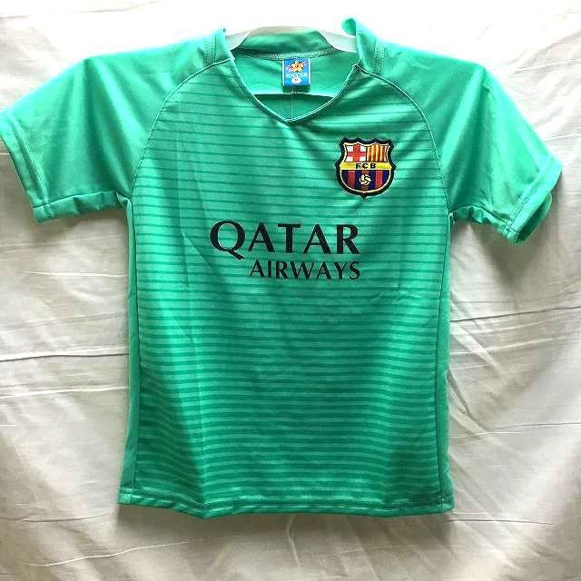 子供用 K134 17 バルセロナ メロン ゲームシャツ ...